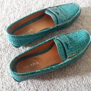 Authentic PRADA loafers/Moccasins
